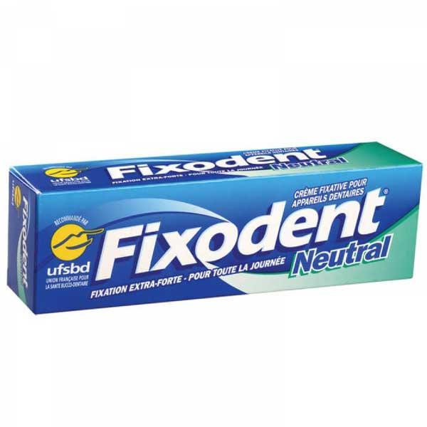 خمیر چسب دندان مصنوعی بدون طعم فیکسودنت FIXODENT NEUTRAL DENTURE |
